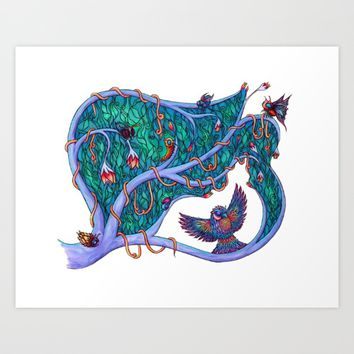 The Spirit of the Times Art Print by WarDuckDesign