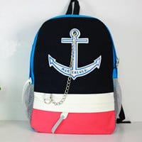 Anchor Canvas backpack Bag