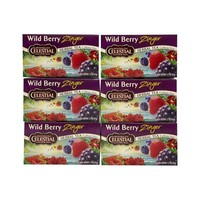 Celestial Seasonings Wild Berry Zinger Herb Tea (1x20bag)