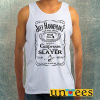 Jeff Hanneman Thrash Metal Logo Clothing Tank Top For Mens