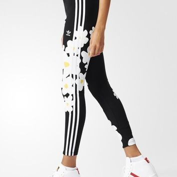 "Women""Adidas"" Fashion Print Sport Stretch Pants Trousers Sweatpants  AO3165"