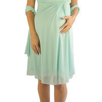 Plus Size Maternity Dresses-Blossom