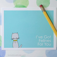 I Love You Card Love Pun Card Cute Love Card For Girlfriend Card For Wife Card Cat Love Card Romantic Card Happy Anniversary Card Cute Cat