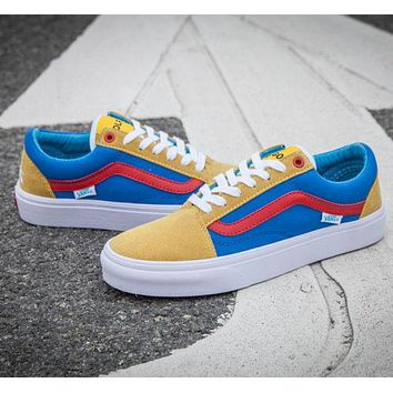 Vans x Golf Wang Old Skool Flats tide brand fashion sneakers trendy running shoes F
