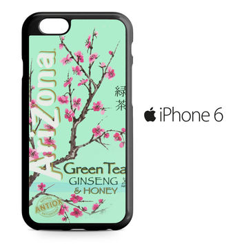Arizona Green Tea SoftDrink iPhone 6 Case