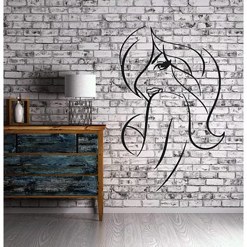 Hot Sexy Girl Beauty Spa Hair Salon Mural Wall Art Decor Vinyl Sticker Unique Gift z725