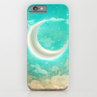 Dreams Are Illustrations (Vintage Dreams) iPhone & iPod Case by Soaring Anchor Designs