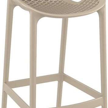 Air Bar Stool Dove Gray (Set of 2)