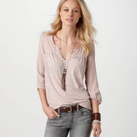 AE Chiffon Back T | American Eagle Outfitters