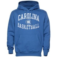 North Carolina Tar Heels (UNC) Reversal Basketball Hoodie - Carolina Blue
