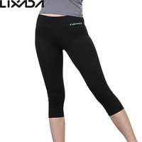 Black LIXADA Tight Yoga Soft Quick-dry Sports Leggings