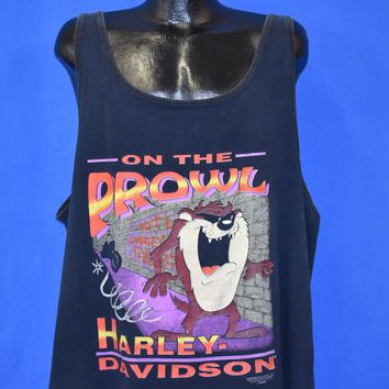 90s Harley Davidson Taz On The Prowl t-shirt Extra Large