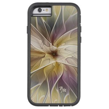 Floral Fantasy Pattern Abstract Fractal Monogram Tough Xtreme iPhone 6 Case