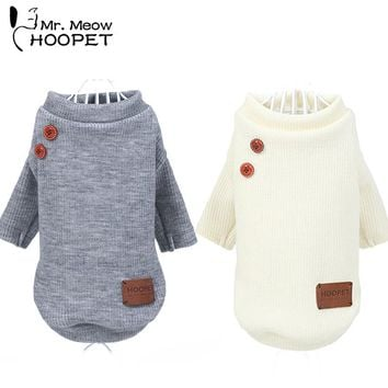 Dog Clothes Puppy Spring Summer Two-legged Clothing Teddy Bear Casual Trousers Cat Sweater Pet