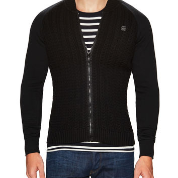G-Star Men's Knit Raglan Jacket - Black - Size M