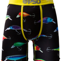 PSD Kyrie Irving Signature Fish On Boxer Briefs In Black