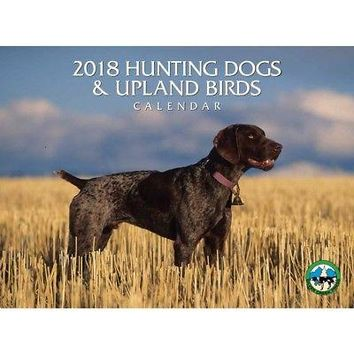 Hunting Dogs and Upland Birds Wall Calendar, Assorted Dogs by Silver Creek Press