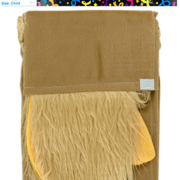 child's monkey cape with tail & furry paws Case of 6