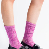 Hansel from Basel 'Fuzzy' Cable Sock