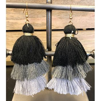 Talk about Those Tassels Earrings