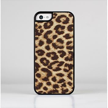 The Simple Vector Cheetah Print Skin-Sert Case for the Apple iPhone 5c
