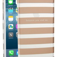 kate spade new york 'between you and me' iPhone 6 case | Nordstrom
