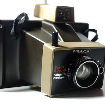 Polaroid Land minute maker sears special colorpack - Vintage camera - instant camera - polaroid 100