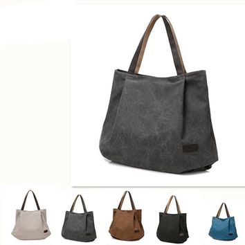 Lady's bag women yoga messenger style canvas shoulder big new hot sell Sports bag
