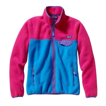 Patagonia Women's Full-Zip Snap-T® Fleece Jacket | Andes Blue
