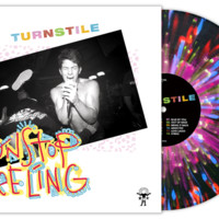 "Turnstile ""Nonstop Feeling"" LP Black Splatter Vinyl"