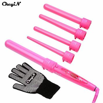 Curling Wand Set Hair Curling Tong 5pcs Hair Curling Iron