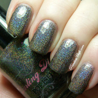 OMG BFD Nail Polish (Linear Holographic/duochrome)