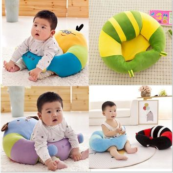 Nursing Pillow U Shaped Cuddle Baby Seat Infant Dining Chair Cushion Pad Pillow, Baby soft sofa chair, Travel Car Seat Pillow