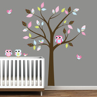 Kids Vinyl Wall Decal Wall Stickers Tree by Modernwalls on Etsy