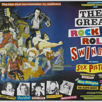 The Great Rock 'N' Roll Swindle (UK) 30x40 Movie Poster (1980)
