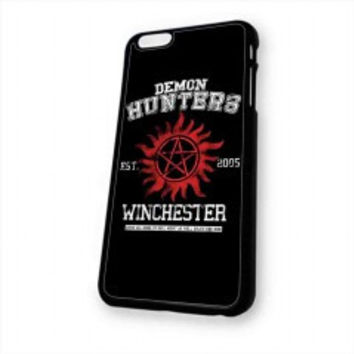 supernatural demon hunters for iphone 6 case