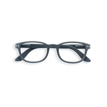 Izipizi - #B Grey Reader Eyeglasses / +3.00 Lenses