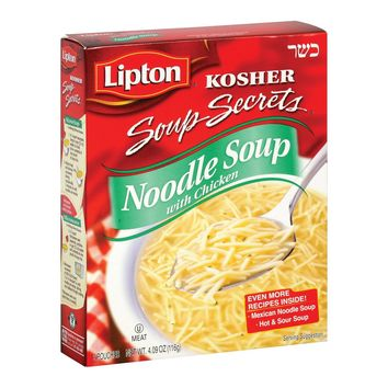 Lipton Noodle Soup - Chicken - Case Of 12 - 4.09 Oz.