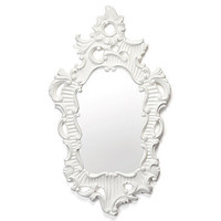 Z Gallerie - Angelique Mirror - White
