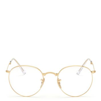 RAY-BAN - 'RB3532' round metal folding optical glasses | Metallic Optical Glasses Eyewear | Womenswear | Lane Crawford - Shop Designer Brands Online