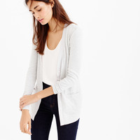 Perfect-fit mixed-tape cardigan sweater
