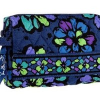Vera Bradley Small Cosmetic (Indigo Pop)