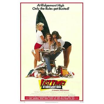 FAST TIMES AT RIDGEMONT HIGH POSTER Rare Hot New 28x40