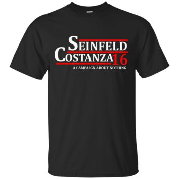 Seinfeld Costanza 2016 A Campaign About Nothing T-Shirt
