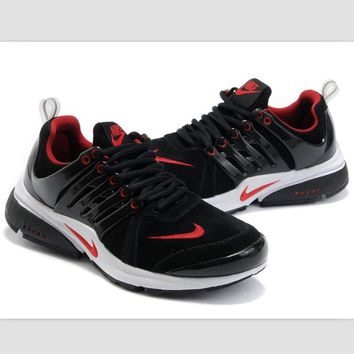 NIKE new lightweight casual shoes sports shoes Black red white