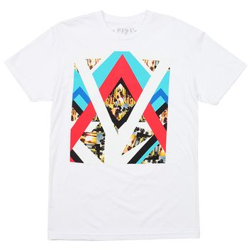 Marley Apparel Expanded Palm Tree White T-Shirt