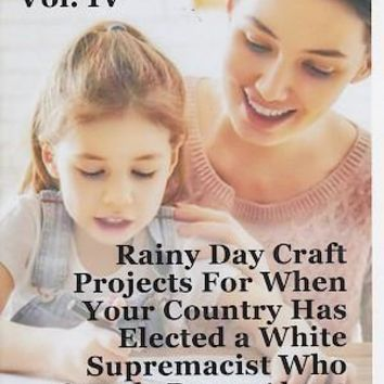 Rainy Day Craft Projects for When Your Country Has Elected a White Supremacist Who Openly Brags About Sexually Assaulting Women Zine