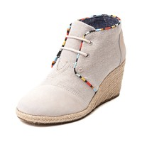Womens TOMS Desert Wedge