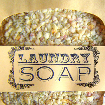 Laundry Soap SAMPLE SIZE ecofriendly laundry by SoapForYourSoul