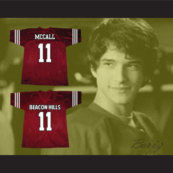 Scott McCall 11 Beacon Hills Lacrosse Jersey Teen Wolf TV Series
